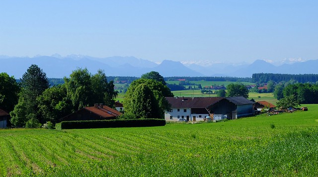 Albaching - Upper Bavarian Landscape