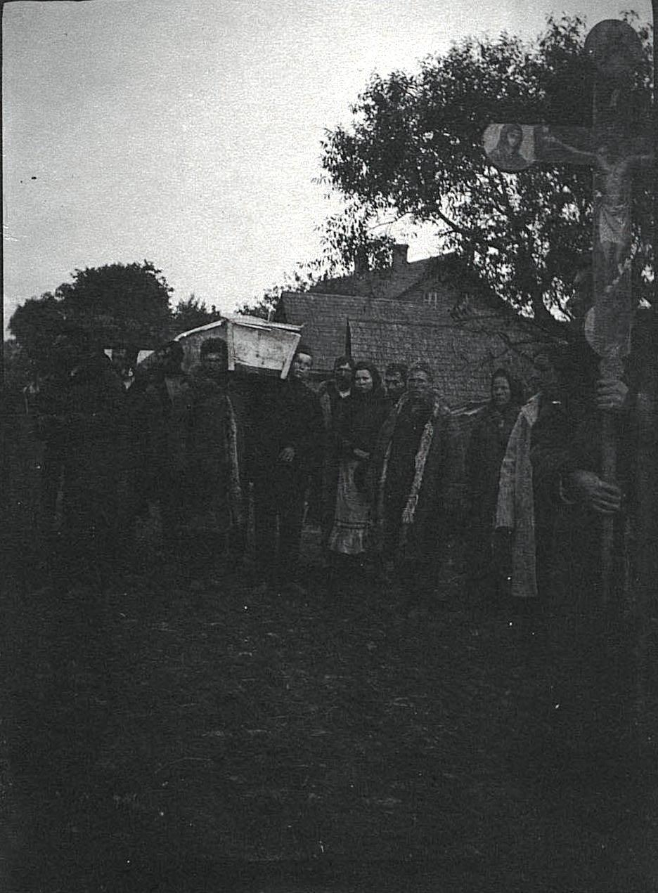 Похороны беженца