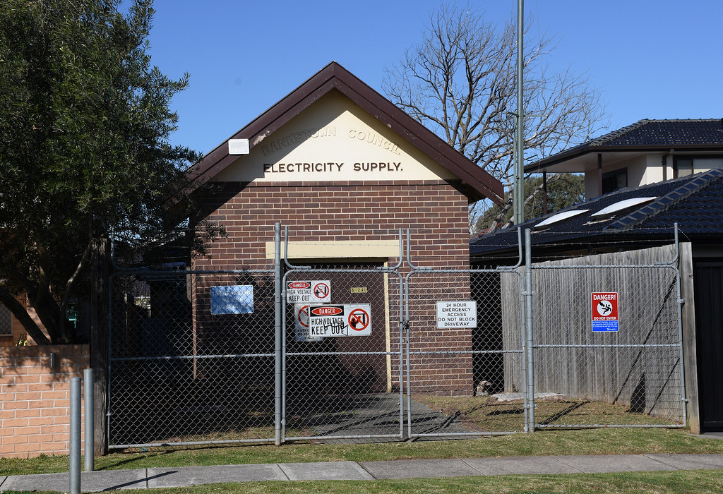 Electricity Substation, Punchbowl, Sydney, NSW.