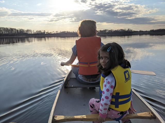 Canoe Ride at the Ponderosa
