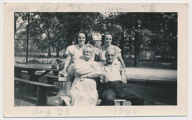1948 - Gus and Susan Heyde family
