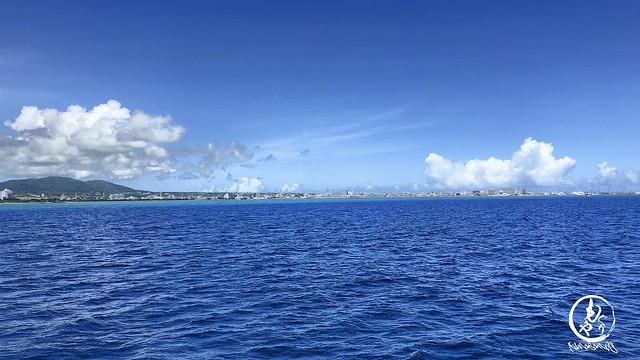 梅雨明け後ずっとこんな感じで穏やかな快晴続く石垣島♪