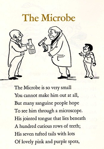 The Microbe by Hilaire Belloc