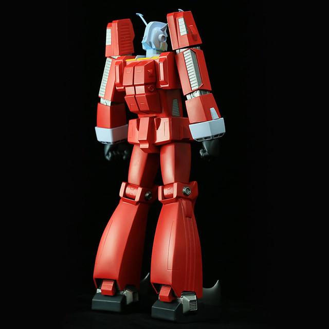 中止販售的商品復活!海洋堂 Sofubi Toy Box Characters SVC001 傳說巨神伊甸王(伝説巨神イデオン)