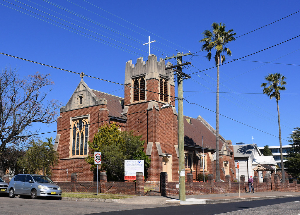 St Andrew'a Anglican Church, Lakemba, Sydney, NSW.