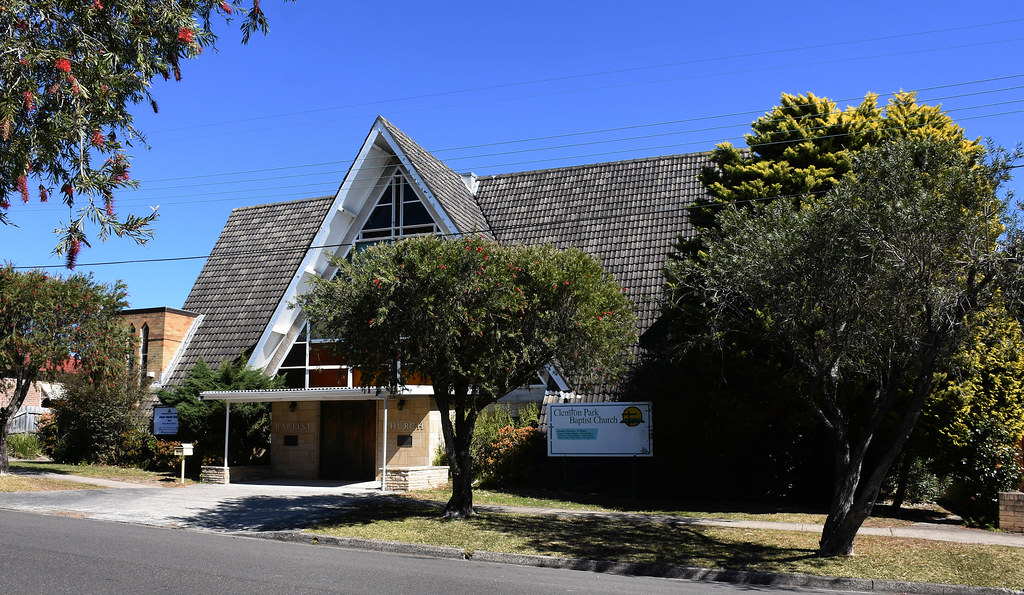 Celmpton Park Baptist Church, Kingsgrove, Sydney, NSW.