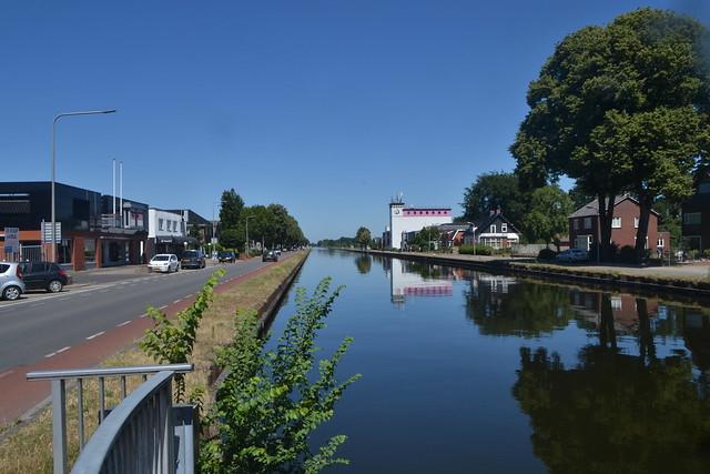 Kanaal Almelo-De Haandrik in Vroomshoop (136FJAKA_3870)