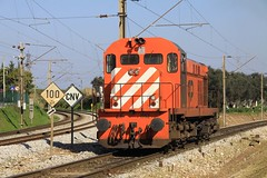 CP 1552 arrives at Entroncamento, 1st February 2011