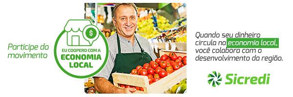 Eu coopero com a economia local, participe - Sicredi Pampa Gaúcho
