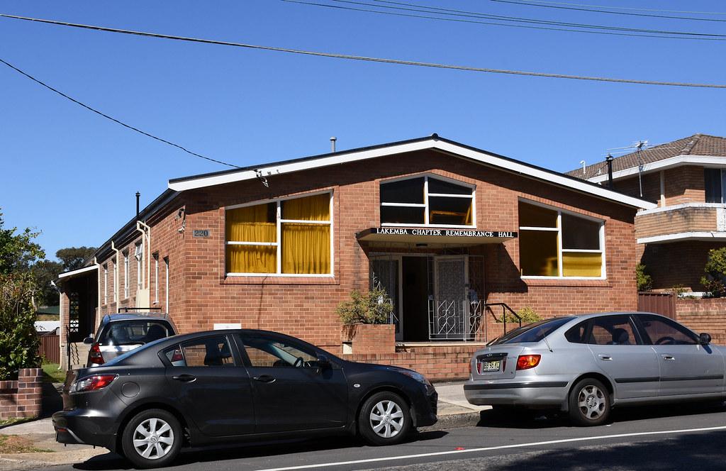 Lakemba Chapter Remembrance Hall, Lakemba, Sydney, NSW.