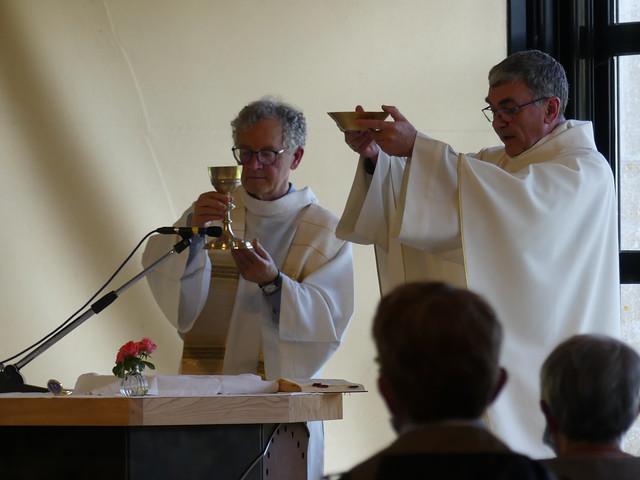 Fête Dieu 2020 au Sanctuaire ND de Toute Aide à Querrien (La Prénessaye)
