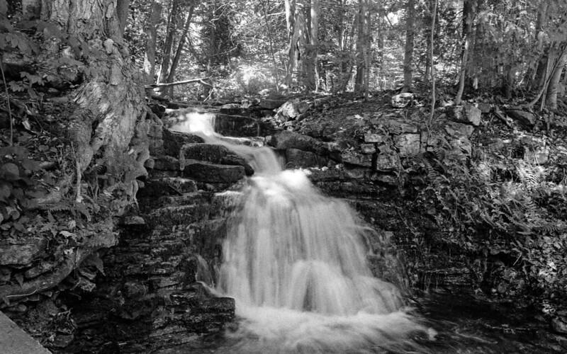 Mini Waterfall in Silvercreek Conservation Area