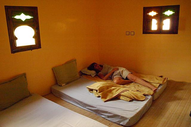 Lodge room, Atlas Mountain, Morocco