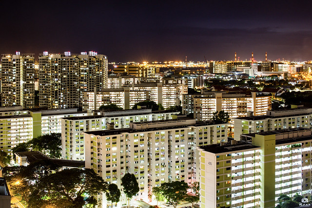 City lights - Clementi, Singapore