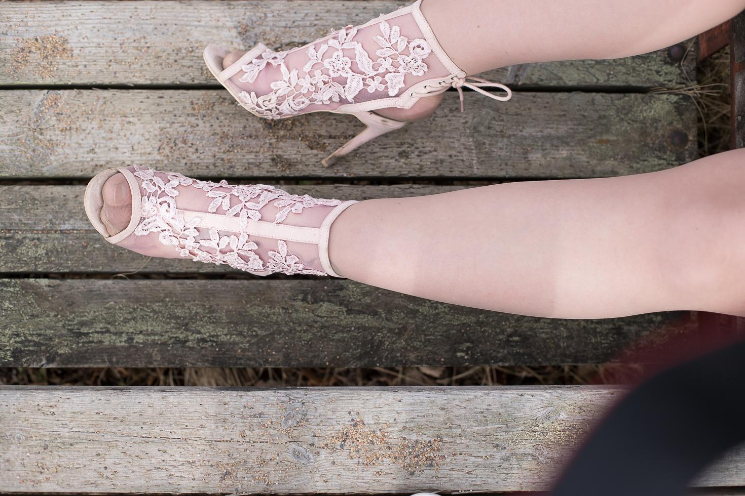 Vaaleanpunaiset-korkokengat