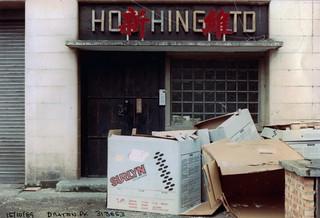 Hoo Hing Ltd,  Drayton Park, Highbury, 1989 TQ3185-008