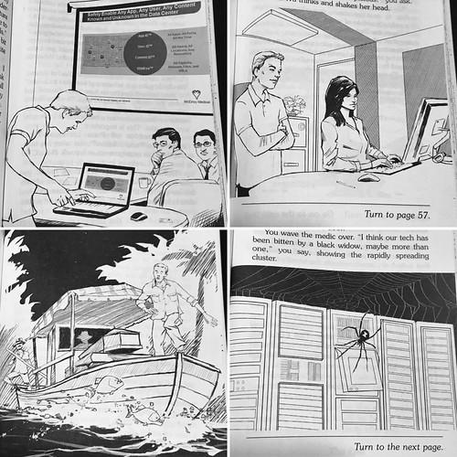 Data Center of Doom illustrations