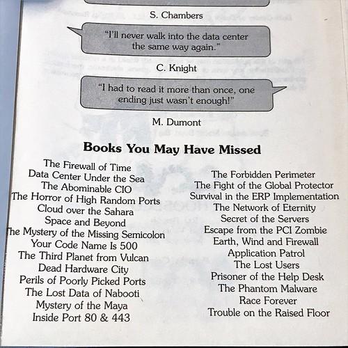 Data Center of Doom other books
