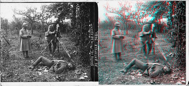 Somme champ de bataille 1916