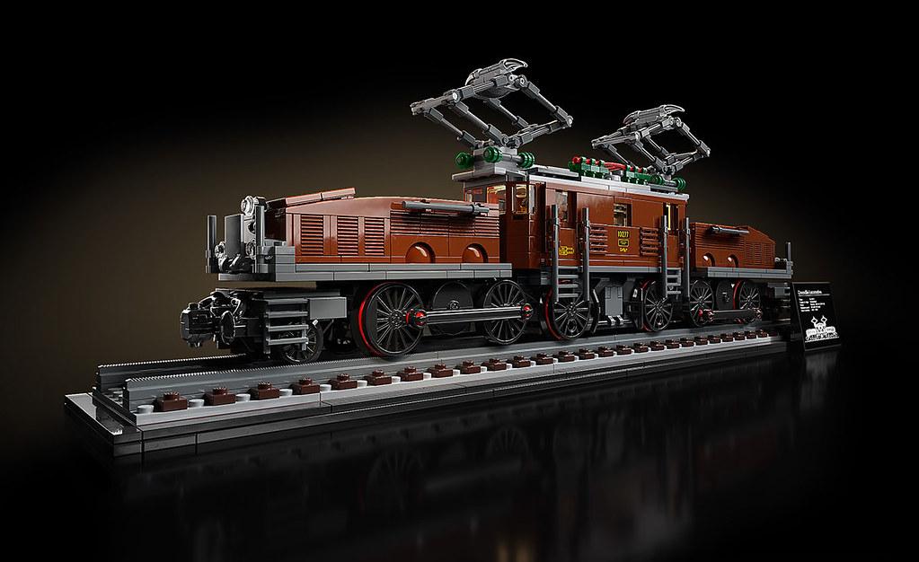 [現貨] LEGO 10277 鱷魚火車頭 Crocodile Locomotive