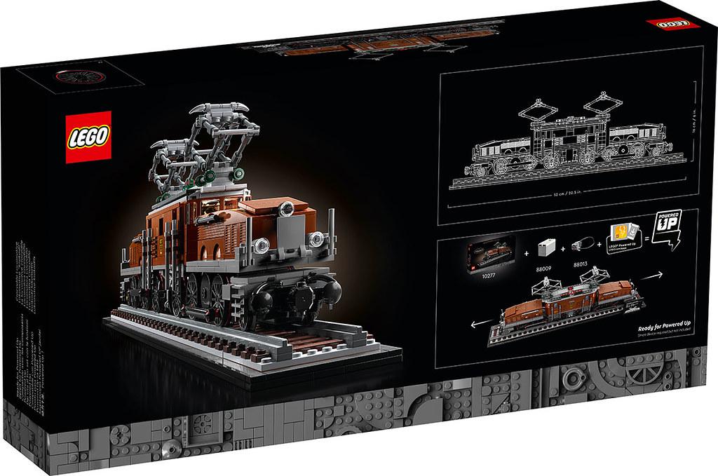 鐵道迷大興奮!超美鱷魚現蹤~ LEGO 10277 創意系列【鱷魚火車頭】Crocodile Locomotive