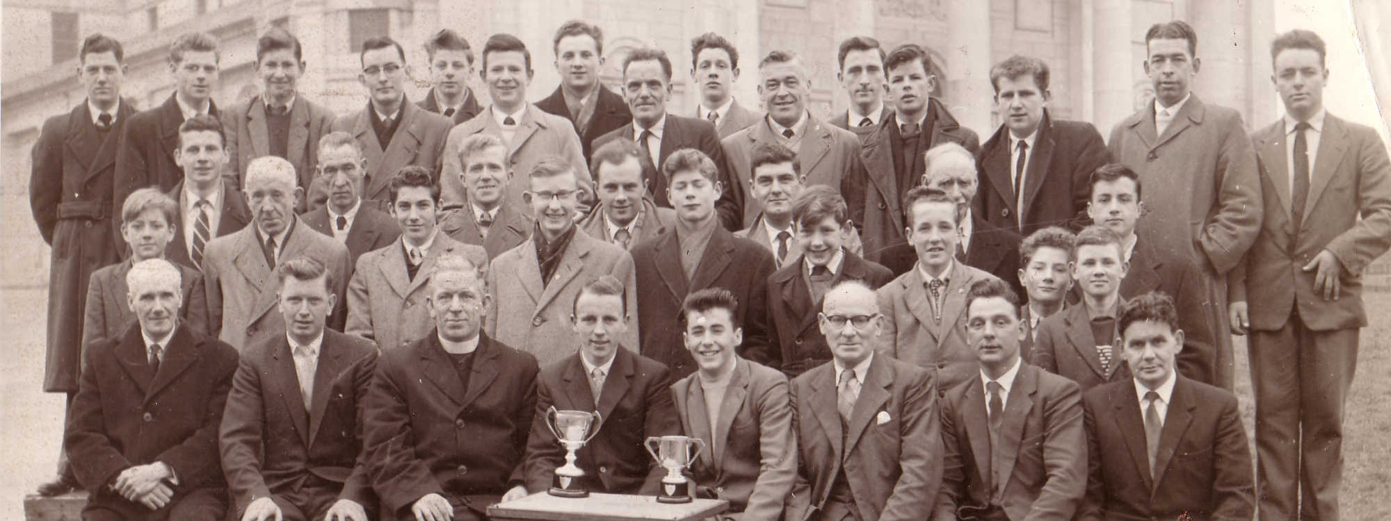 Billiards and Snooker Presentation at Cathedral 1960
