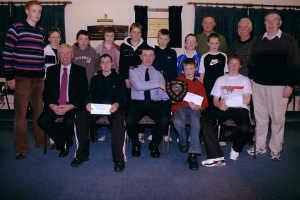Cathal Dunne Wins Garda Shield, December 2005