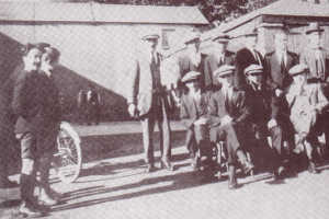 Thumbnail of Catholic Club members in 1922