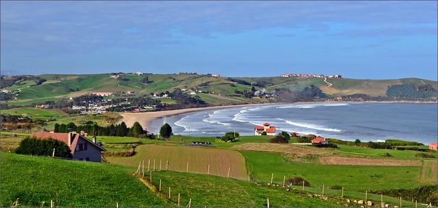 Playa de  Oyambre - Cantabria