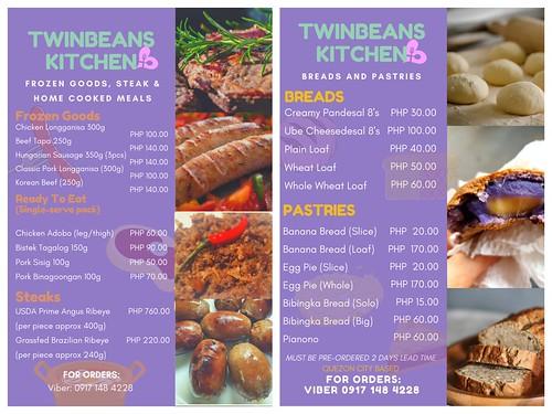 twin beans kitchen menu