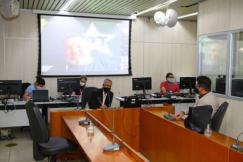 16ª Reunião da Comissão Parlamentar de Inquérito - Débitos do Município com a Construtora Andrade Gutierrez