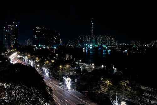 aasia saigon landscape river dark saigonriver hochiminhcity ngc hochiminh vietnam night worldtrekker