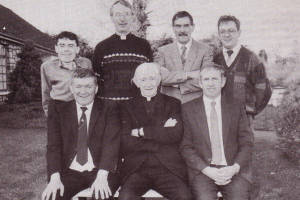 Father Malachy Byrne and Committee, 1991