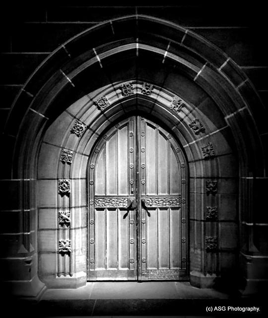 Church door`s