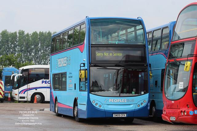 PEOPLES BUS - Enviro400