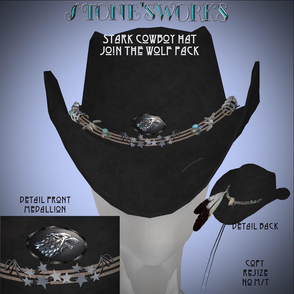 Stark Cowboy Hat Stone's Works