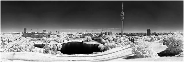 Olympic Park Munich - IR-Pano