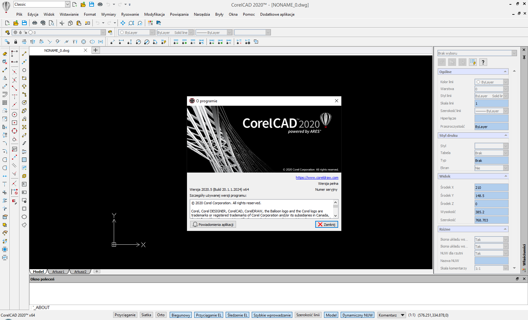 Working with CorelCAD 2020.5 Build 20.1.1.2024 full license