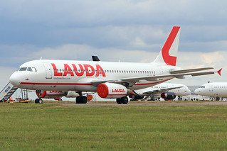 OE-IHL  -  Airbus A320-232  -  Laudamotion  -  STN/EGSS 15/6/20 | by —Plane Martin—