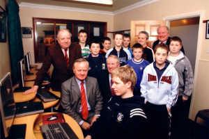 Jim Higgins MEP Visits Cavan CYMS, February 2007