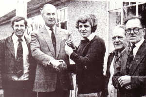 Purchase of the Hut from Lord Farnham, 1976