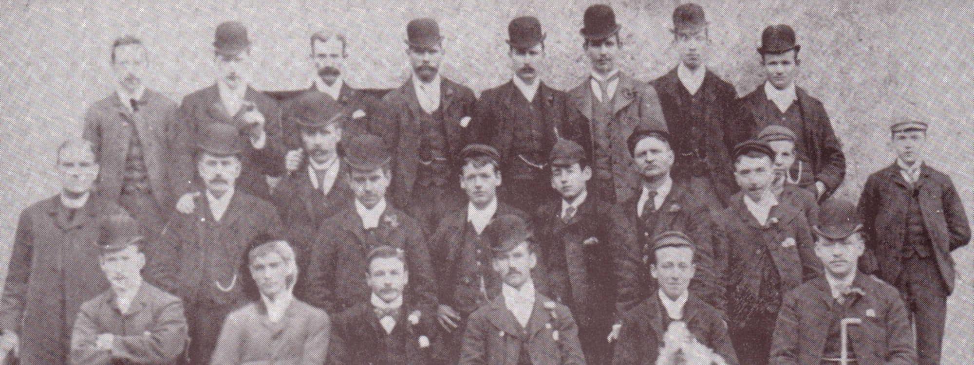Members of the Catholic Club, 1890