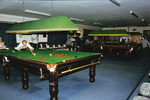 Image of snooker facilities