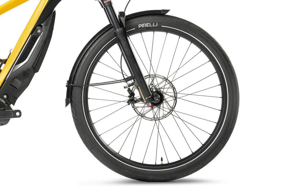 Ducati e-Scrambler Suspension