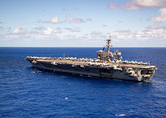 In this file photo, USS Theodore Roosevelt (CVN 71) operates in the Philippine Sea, June 11. (U.S. Navy/MC2 Robyn B. Melvin)