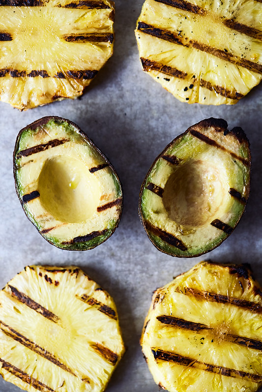 Grilled Pineapple and California Avocado Salsa