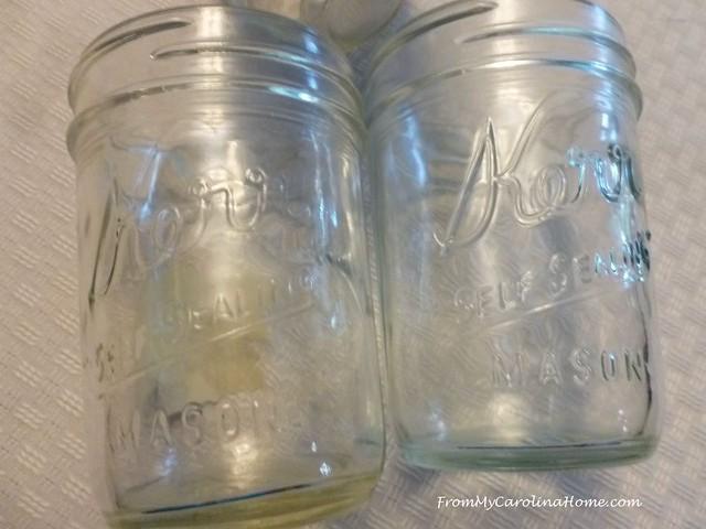 Mason Jars at FromMyCarolinaHome.com