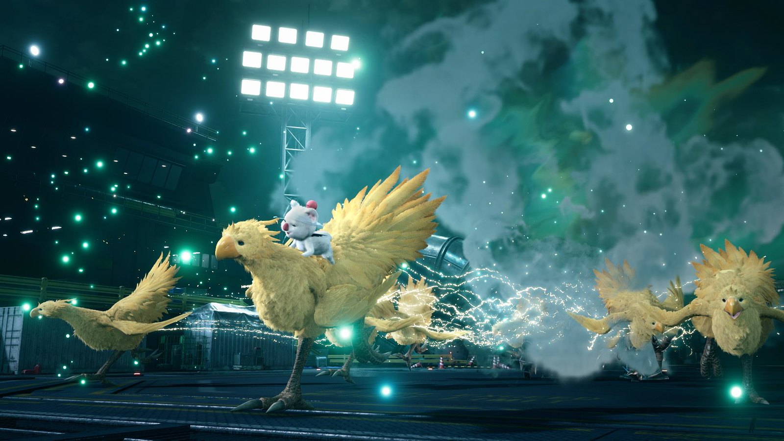 Final Fantasy VII Remake - Chocobo & Moogle Summon
