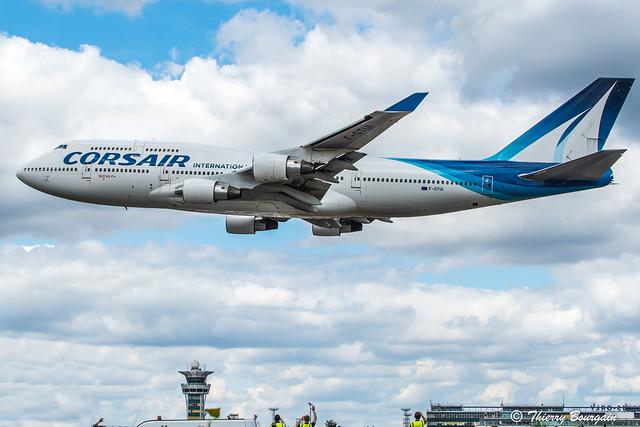 [ORY] Farewell Corsair International Boeing 747-422 _ F-GTUI