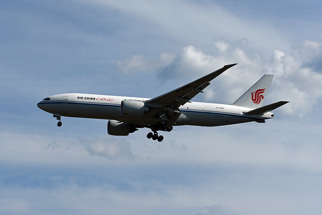 Air China Cargo Boeing 777-FFT B-2095